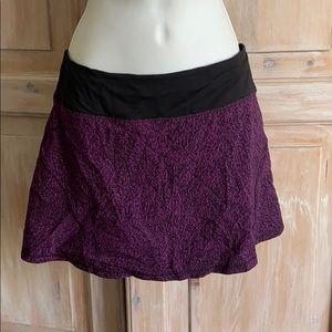 Lululemon Skirt w/ Built in Shorts Women's 6 Tall